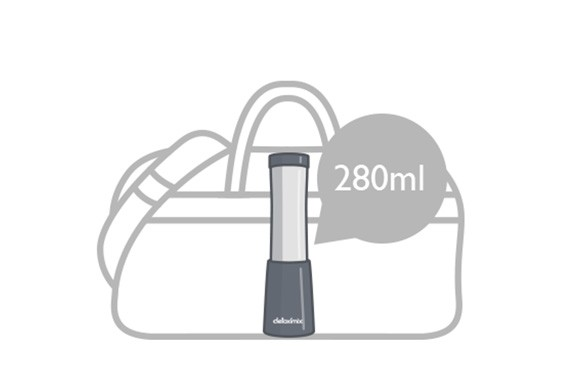 Tamaño compacto de la mini licuadora detoximxi