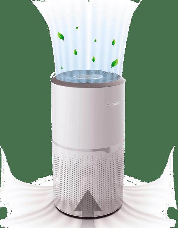 air purifier purificateur d'air système d'aspiration