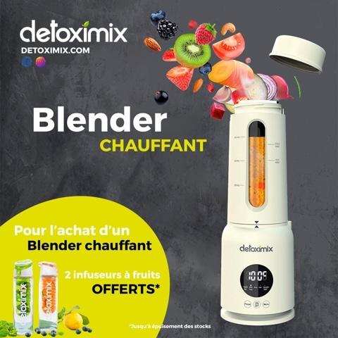 offre blender chauffant detoximix